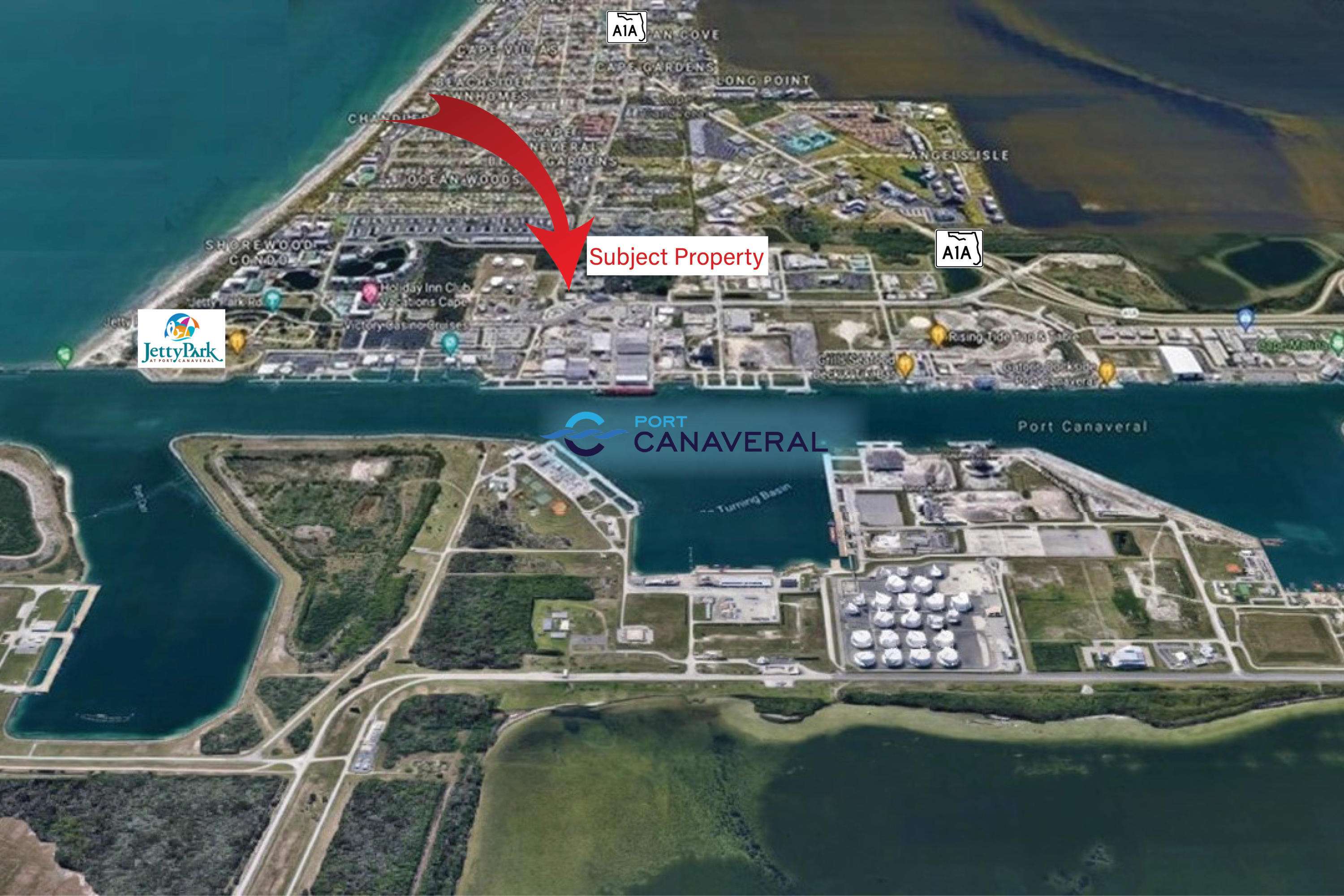 99 George J King Boulevard Property Photo - Cape Canaveral, FL real estate listing