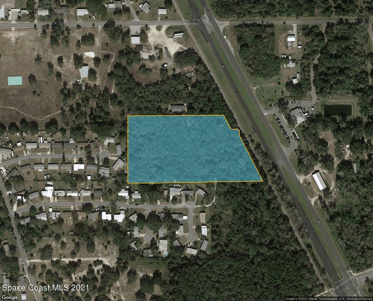 7.26 ac Highway 1 Property Photo - Titusville, FL real estate listing
