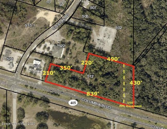0000 S Columbia Blvd Property Photo - Titusville, FL real estate listing