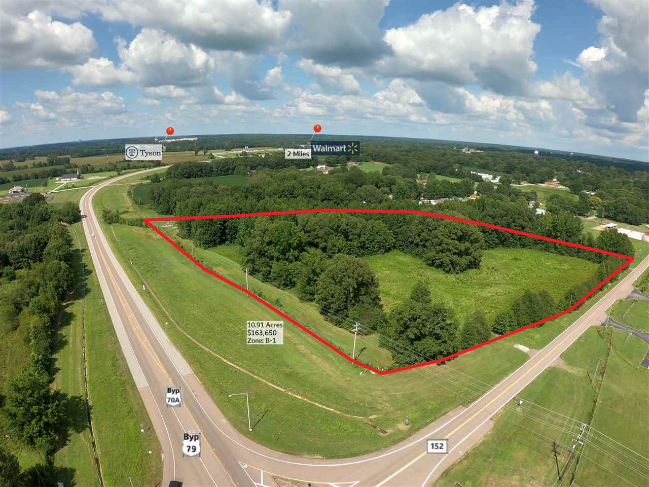 Highway 70/79 Bypass Property Photo