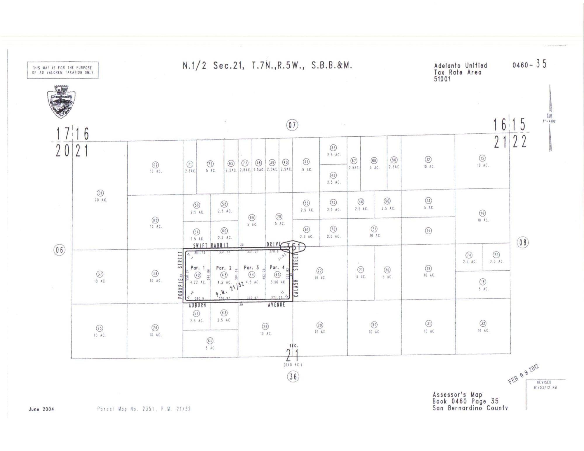 0460-351-60-0000 Swift Rabbit Road Property Photo