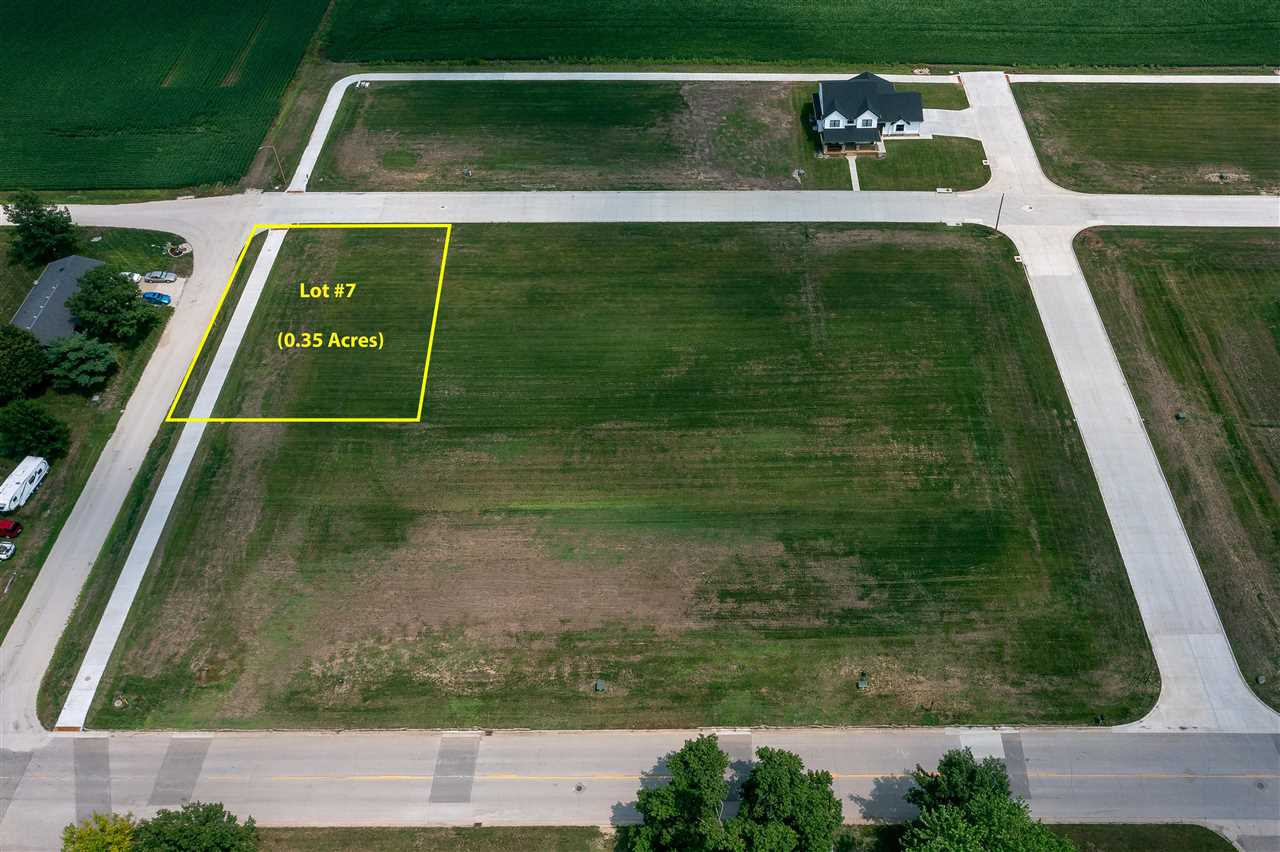 Lot #7 Catherine Farmer Addition Property Photo - Conrad, IA real estate listing