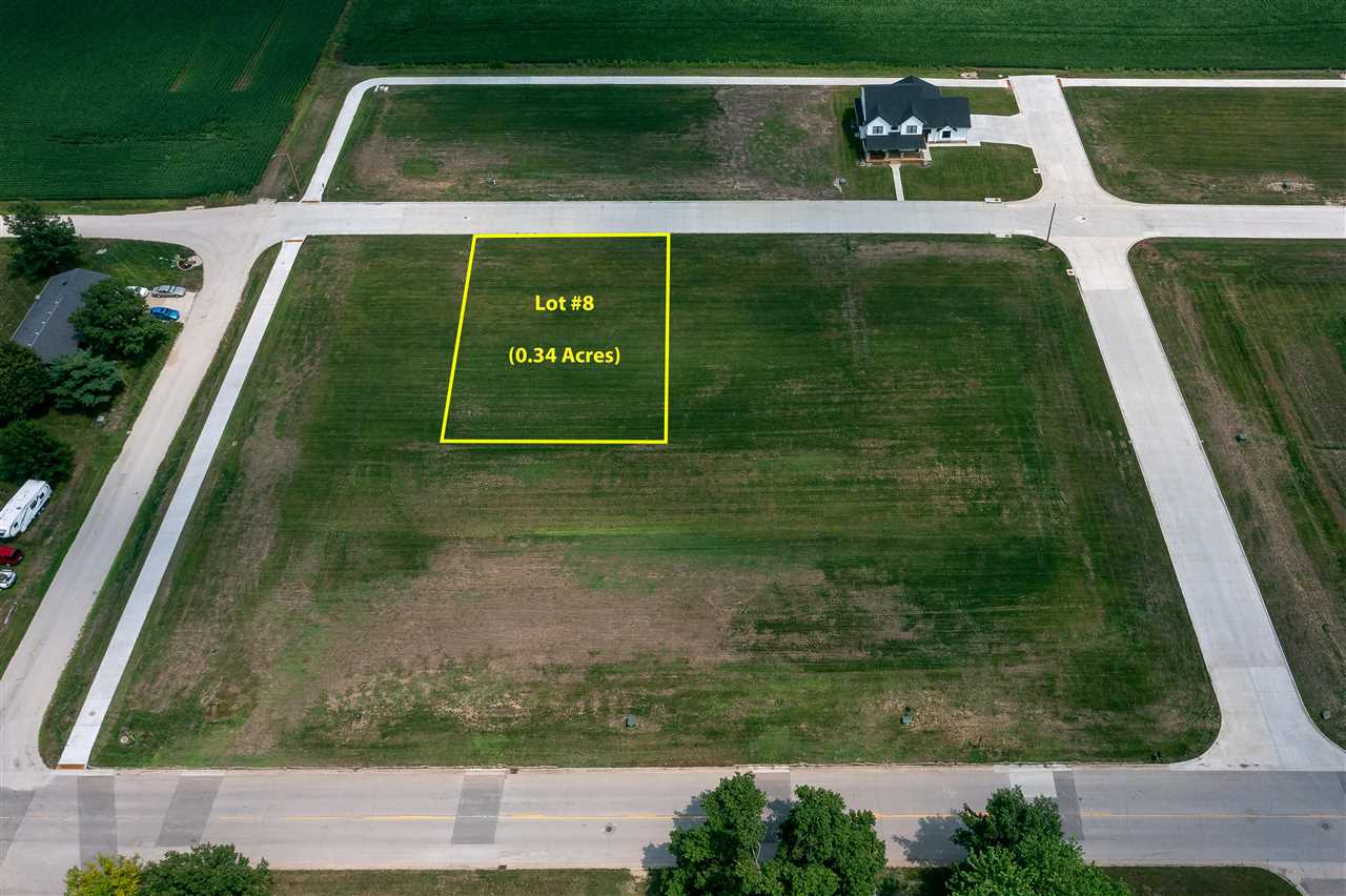 Lot #8 Catherine Farmer Addition Property Photo - Conrad, IA real estate listing