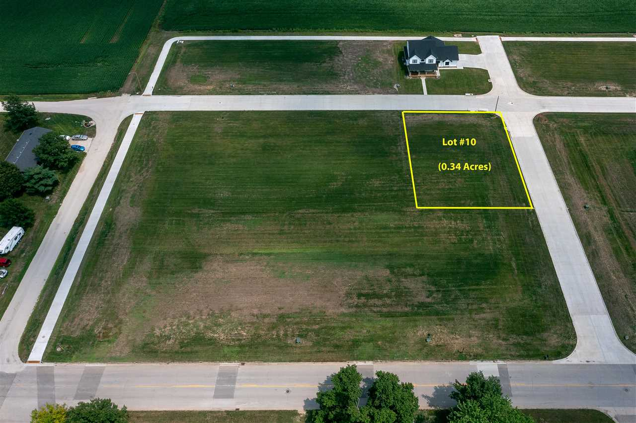 Lot #10 Catherine Farmer Addition Property Photo - Conrad, IA real estate listing