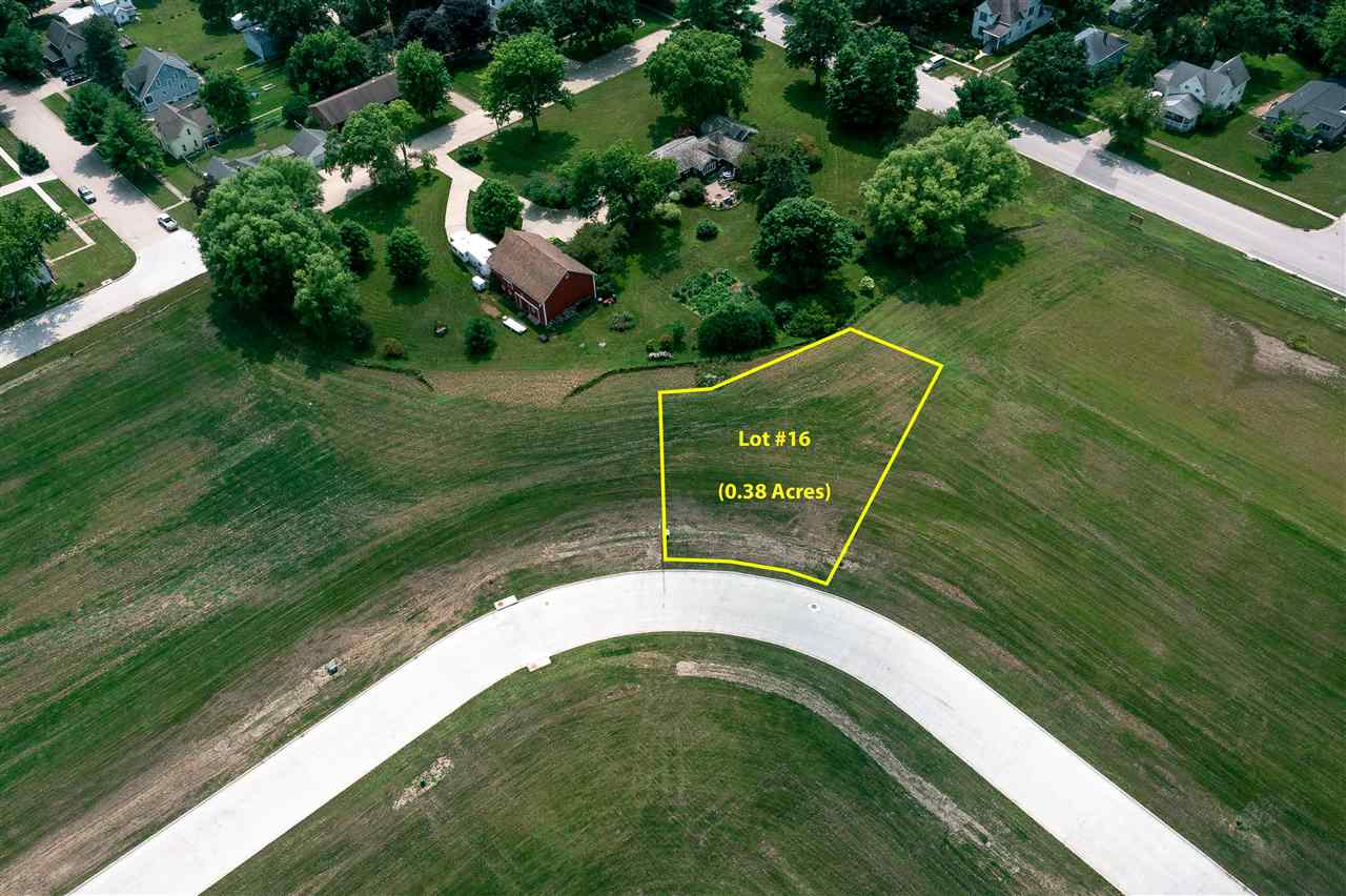 Lot #16 Catherine Farmer Addition Property Photo - Conrad, IA real estate listing