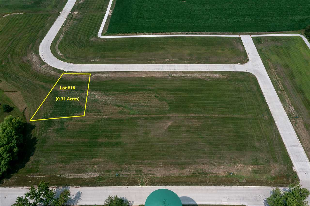 Lot #18 Catherine Farmer Addition Property Photo - Conrad, IA real estate listing