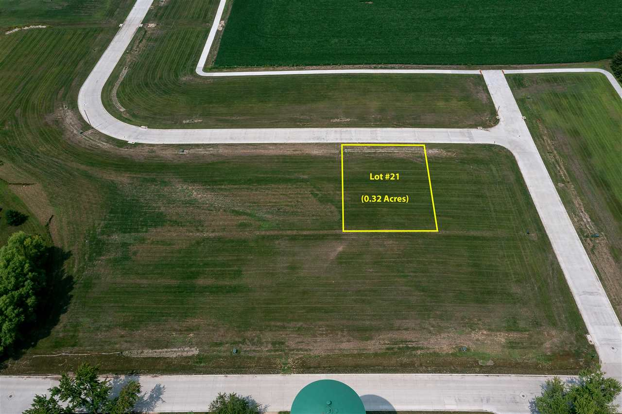 Lot #21 Catherine Farmer Addition Property Photo - Conrad, IA real estate listing