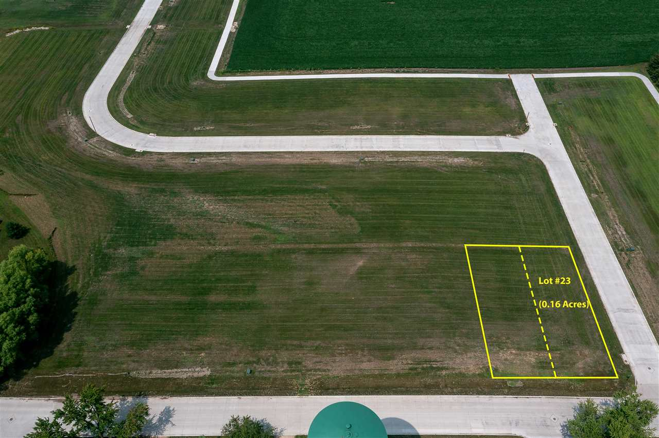 Lots 23 & 24 Katherine Farmer Addition Property Photo - Conrad, IA real estate listing