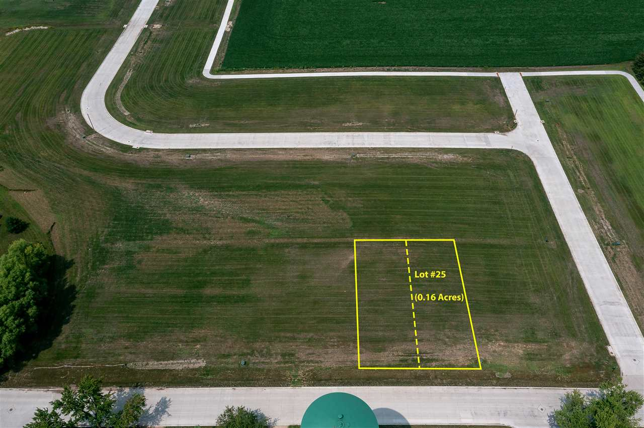 Lots 25 & 26 Katherine Farmer Addition Property Photo - Conrad, IA real estate listing