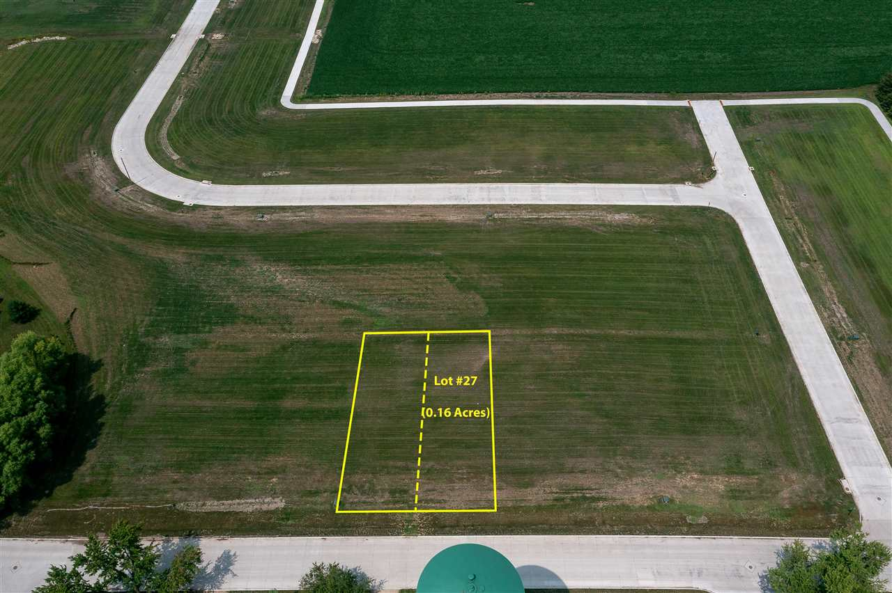 Lots 27 & 28 Katherine Farmer Addition Property Photo - Conrad, IA real estate listing
