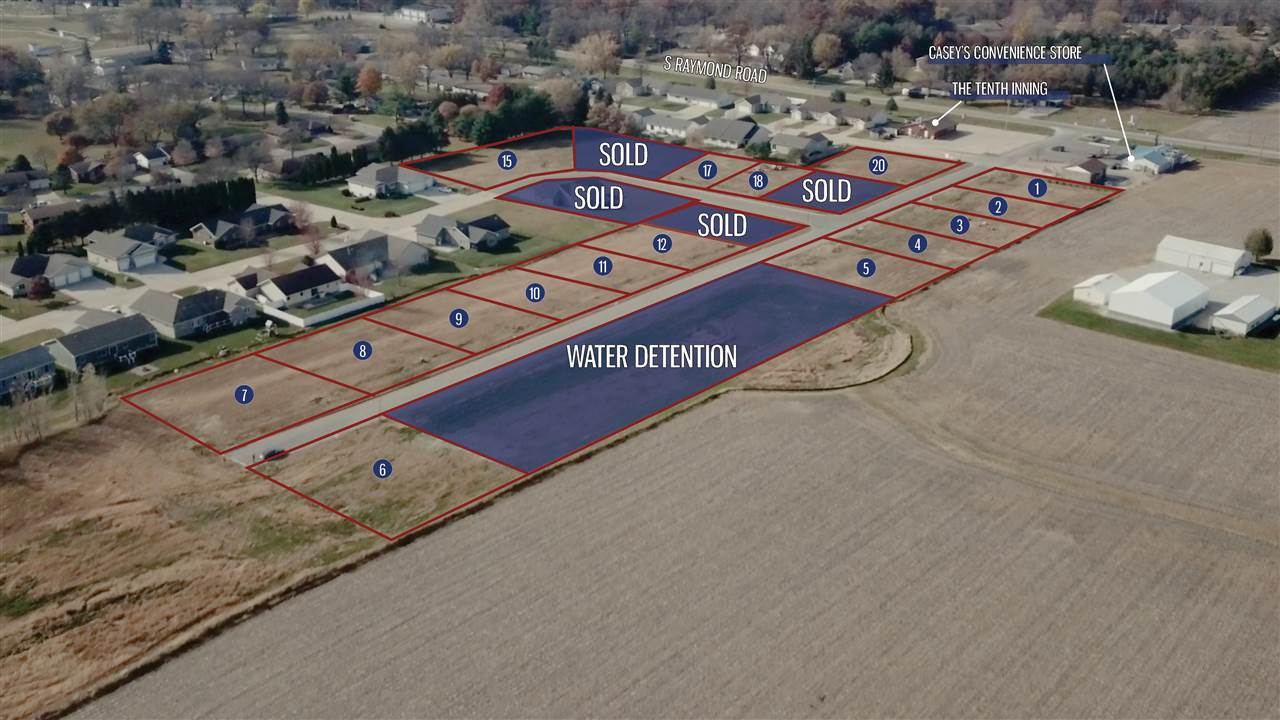 Lot 17 Bosco Heights Property Photo - Gilbertville, IA real estate listing
