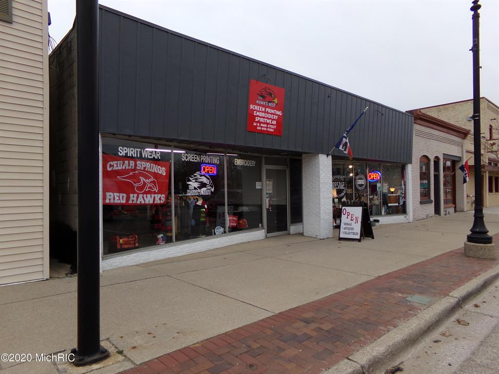 34 N Main Street NE Property Photo - Cedar Springs, MI real estate listing