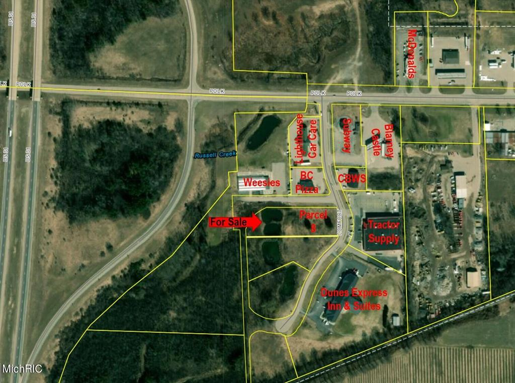 Lot 8 Comfort Drive Property Photo - Hart, MI real estate listing