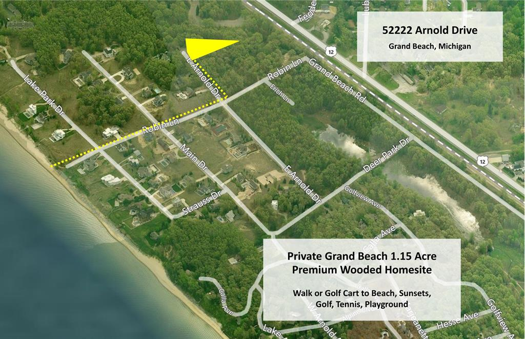 52222 E Arnold Drive Property Photo - Grand Beach Vlg, MI real estate listing