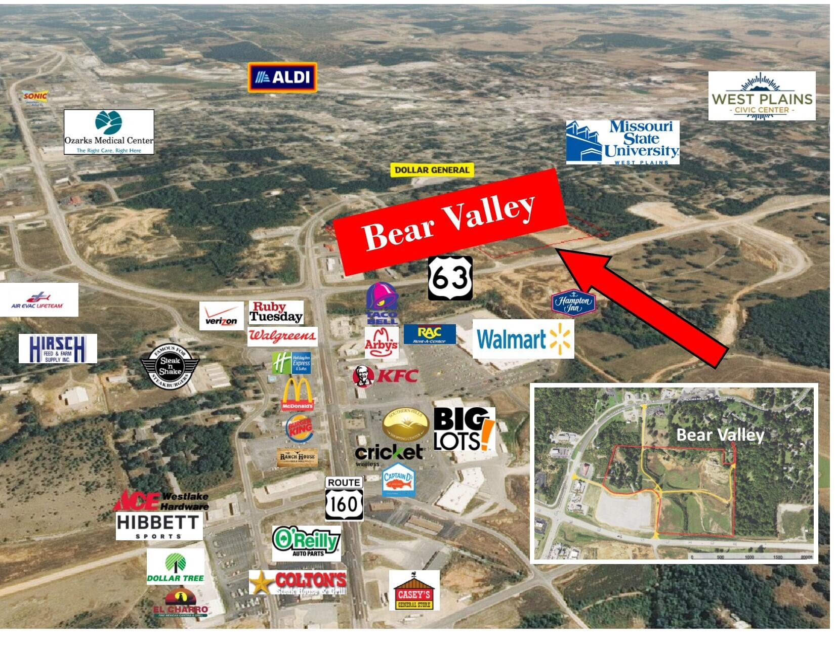 Tbd Hwy 63 & Hwy 160 Property Photo - West Plains, MO real estate listing